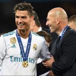 Transfer Cristiano Ronaldo Jadi Alasan Zidane Tinggalkan Real Madrid.