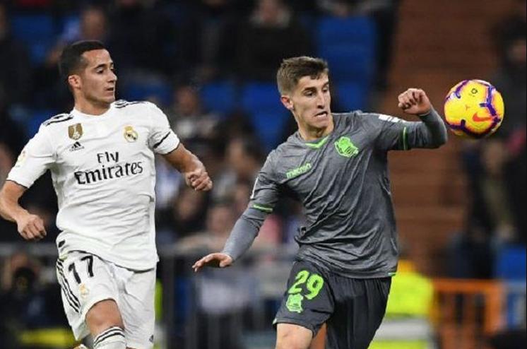 Real Madrid VS Real Sociedad Warnai kekalahan Dengan Kartu Merah.