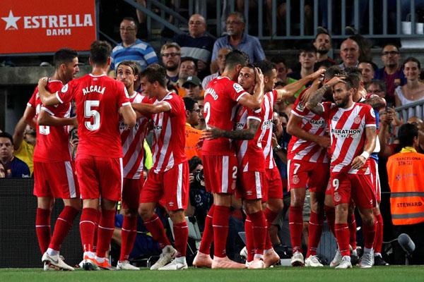 Los Blancos Dipermalukan Oleh Girona Saat di Santiago Bernabeu