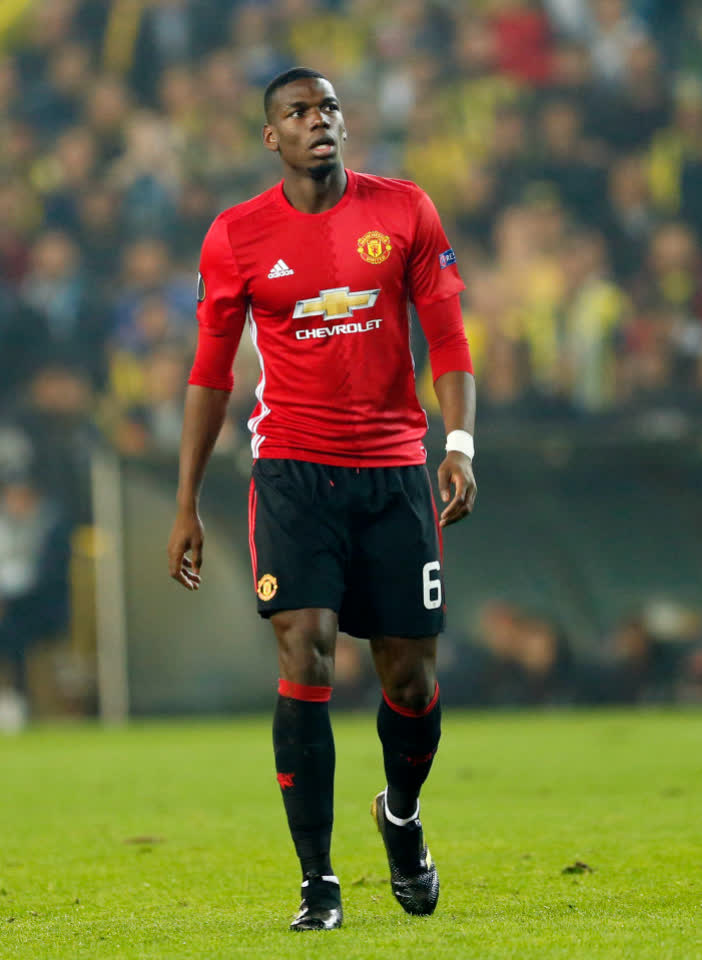 Manchester United Pasang Harga untuk Paul Pogba di Bursa Transfer Musim Dingin