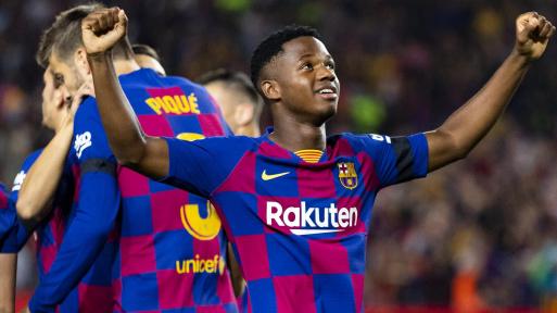 Ansu Fati Kembali Memecah Rekor di Barcelona